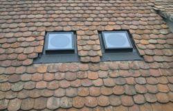 Velux fénycsatornák a tetőn