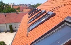 VELUX SSL napelemes redőnyök