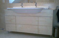 Juhar mosdó szekrény